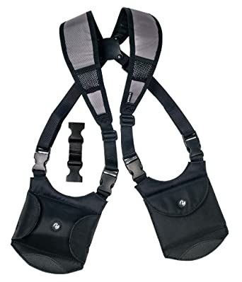Modular Shoulder Holster with Smartphone Pouch and Wallet: Amazon.co