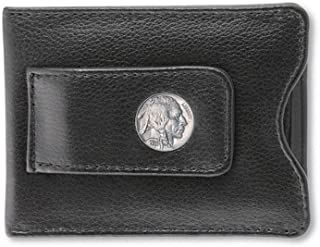product image for Buffalo Nickel Leather Money Clip Coin Wallet