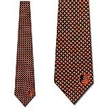 Baltimore Orioles Ties Mens Diamante Necktie by Eagles Wings