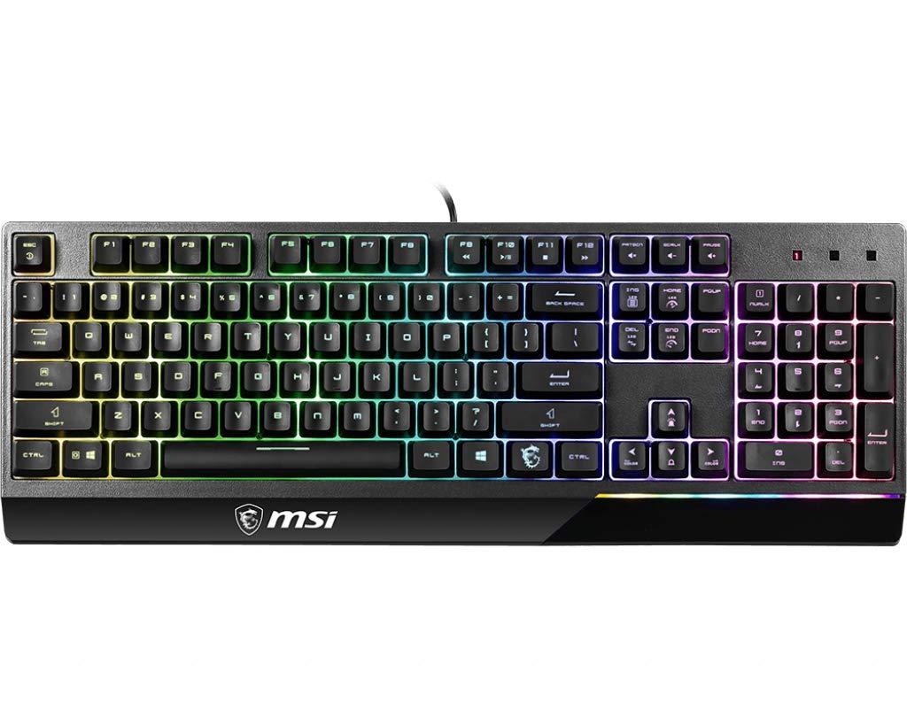 MSI Vigor GK30 clavier USB Belge Noir