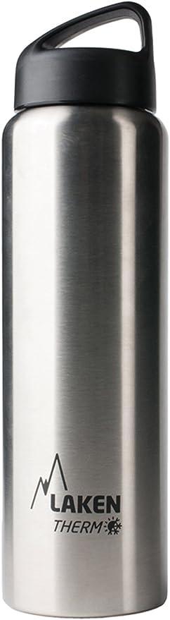 Laken Jannu Botella T/érmica Acero Inoxidable 18//8 y Doble Pared de Vac/ío Unisex adulto Plateado 750 ml