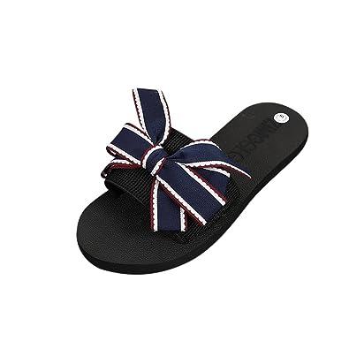 Flip Flops, Sommer Hausschuhe, Damen Sommer Schuhe, Sandalen, Badeschuhe, EU36, rot,