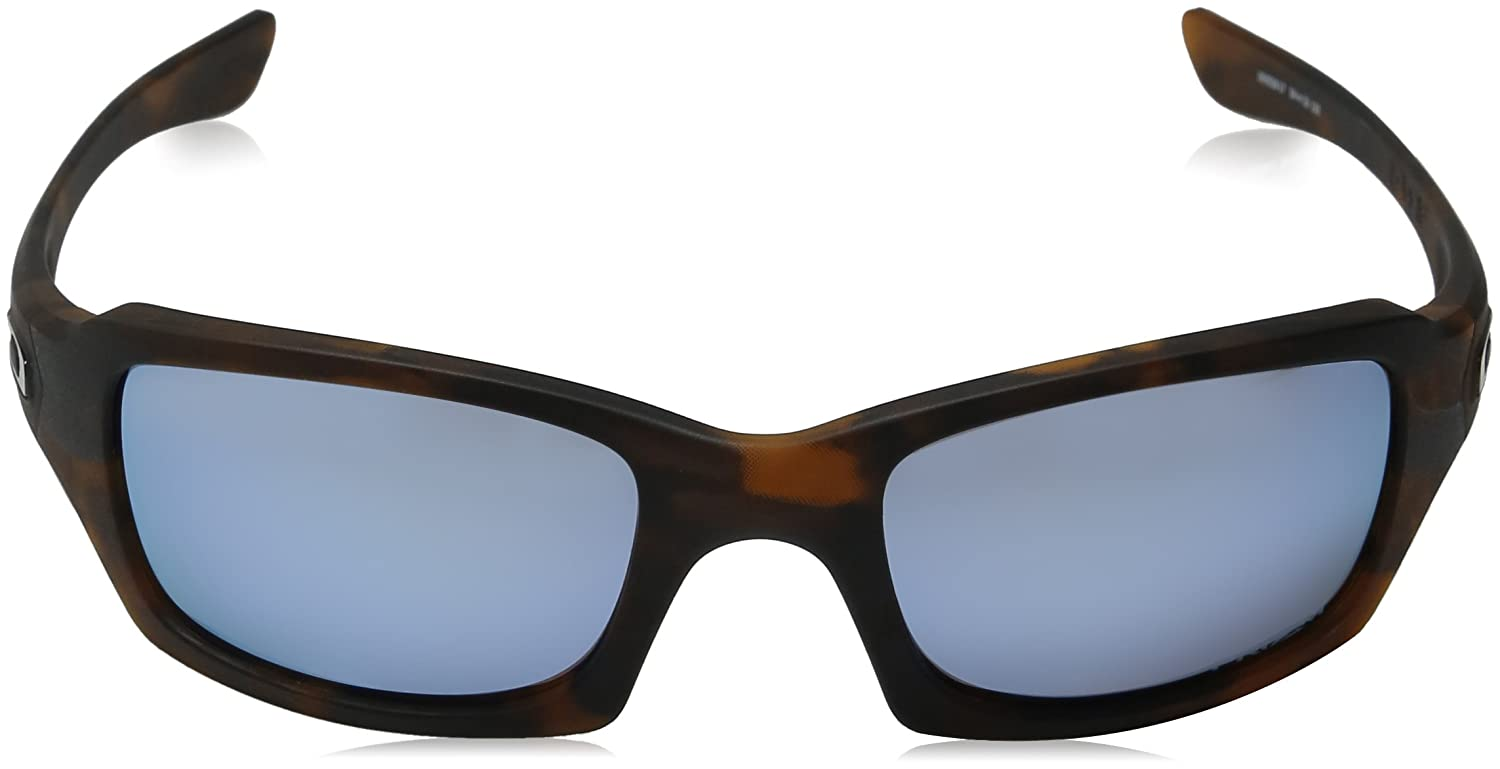 f80aa6159d Oakley Fives Squared Sunglasses w Iridpol  Oakley  Amazon.co.uk  Sports    Outdoors