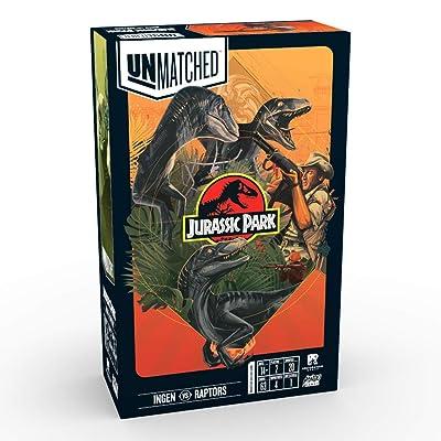 Unmatched Jurassic Park: Ingen Vs. Raptors: Toys & Games