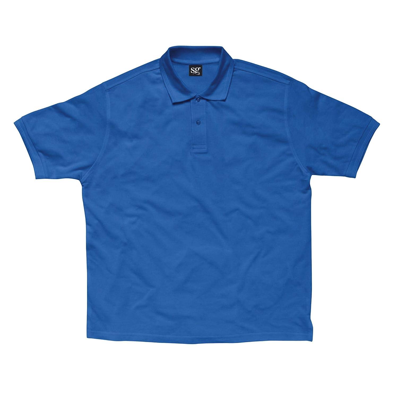 SG- Polo de manga corta de poliéster/algodón para niños: Amazon.es ...