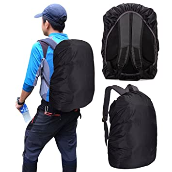 Waterproof Backpack Cover for School Bags Outdoor Activities Bags Luggage  Bags Rain Dust Cover Black 35-40 L  Amazon.co.uk  Luggage 56d1d3e885