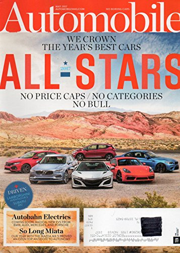 Automobile Magazine 2017 ALL-STARS: WE CROWN THE YEAR'S for sale  Delivered anywhere in USA