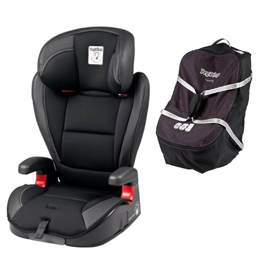 Peg Perego Viaggio HBB 120 w Peg Perego Car Seat Travel Bag (Licorice)