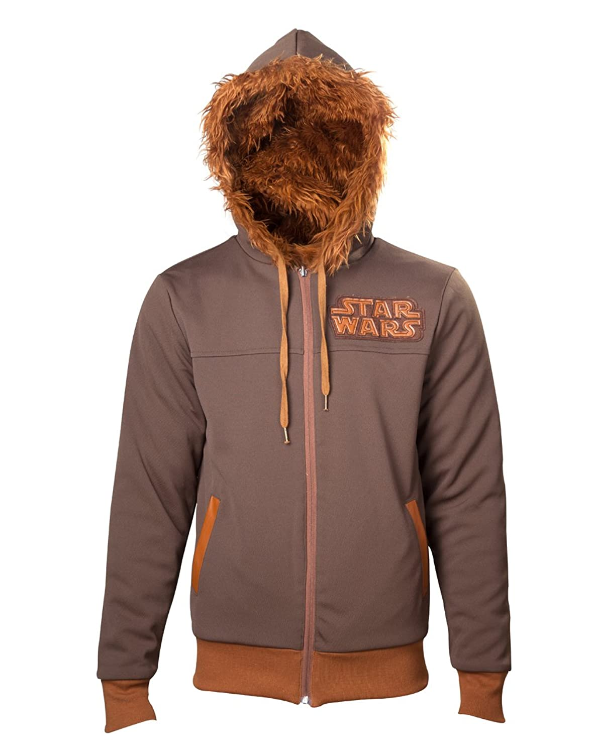 Amazoncom Star Wars Chewbacca Hoodie Mask Zip Clothing - Hoodie will turn you into chewbacca from star wars