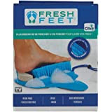 Fresh Feet - Canadian Edition - Foot Scrubber With Pumice Stone, Cleans, Smooths, Exfoliates & Massages your Feet Without Ben
