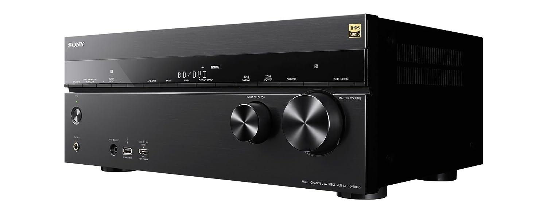 Sony STR-DN1060 - Receptor AV de cine en casa de 7.2 canales (4K Ultra HD, Hi-Res Audio, LDAC, Bluetooth, NFC, Wi-Fi y DLNA), negro: Amazon.es: Electrónica