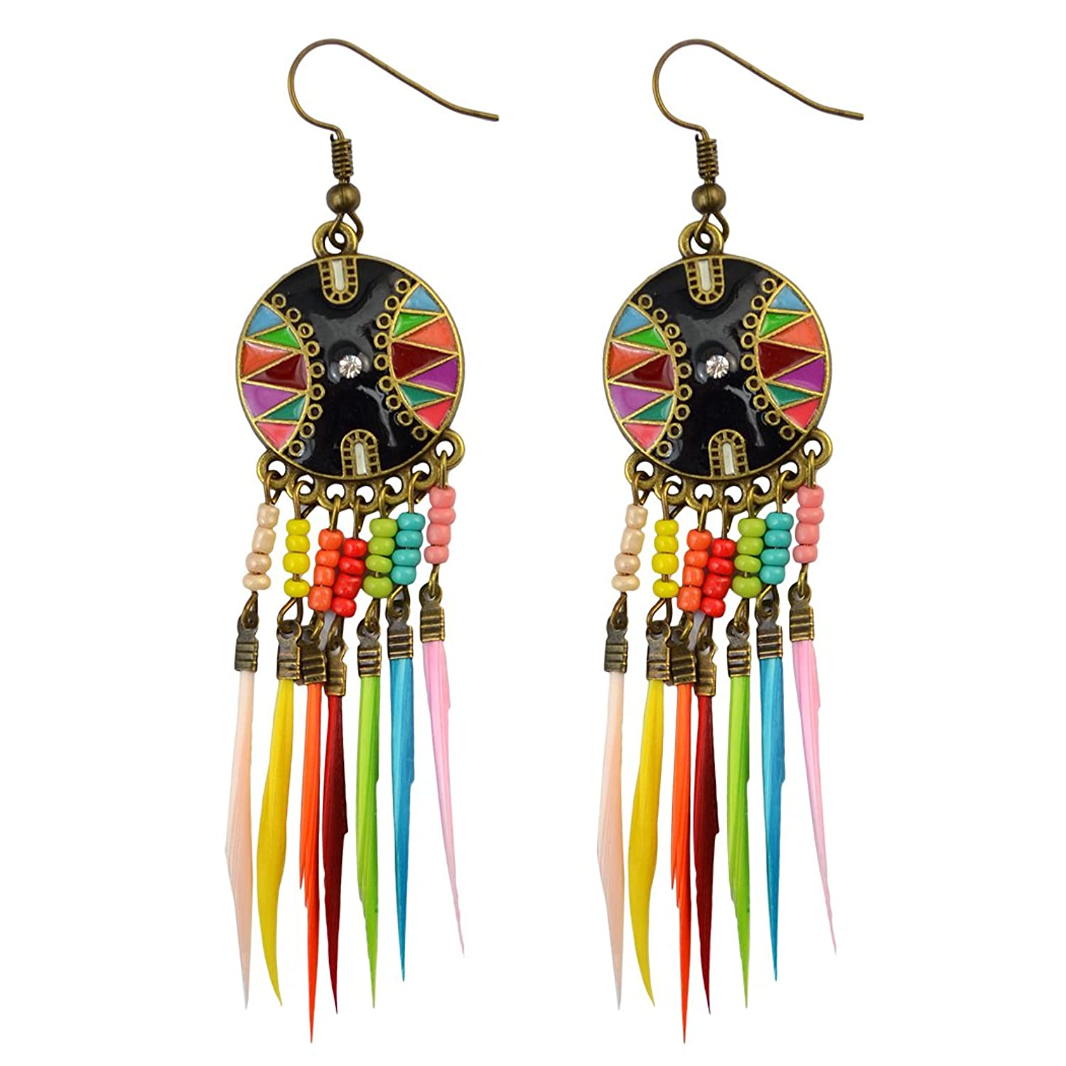 Fashion European Feather Earring Earrings Image 1