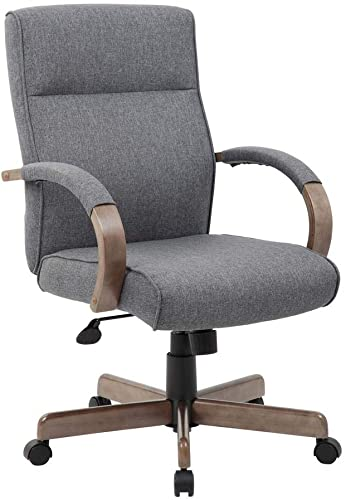 Boss Office Products BOSXK Chairs Executive Seating, Gray