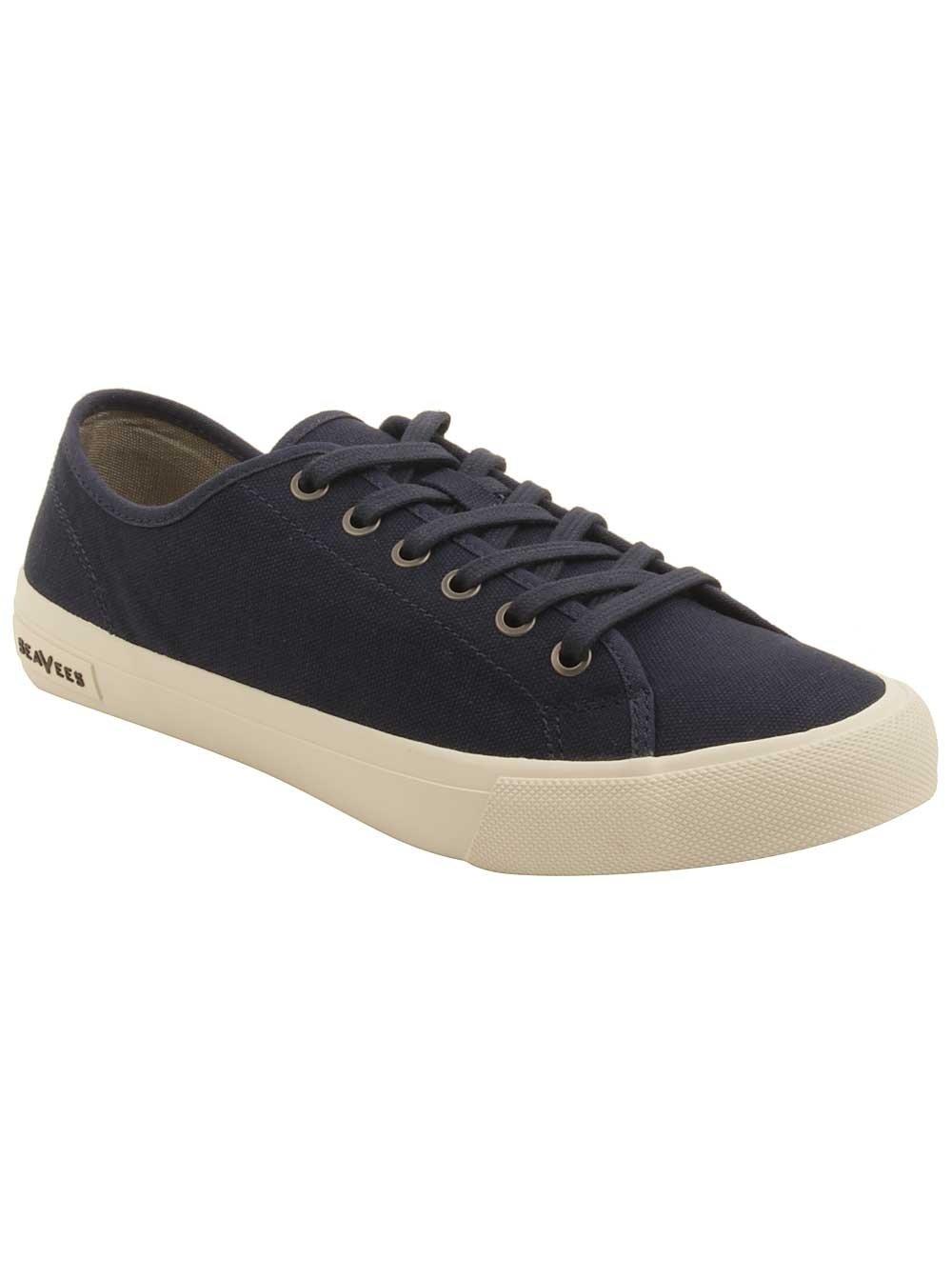 SeaVees Men's Monterey Standard M Sneaker B07889WJVQ 12 M Standard US Navy cb23cc