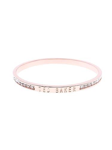9ba01ab37b Ted Baker Clem  Narrow Crystal Band Bangle - Rose Gold  Amazon.co.uk   Jewellery