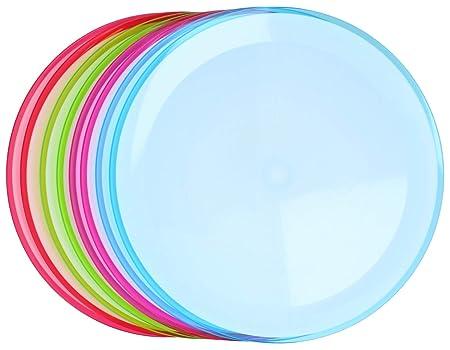 com-four® Placas 8X para el hogar y como Accesorio de Picnic en ...