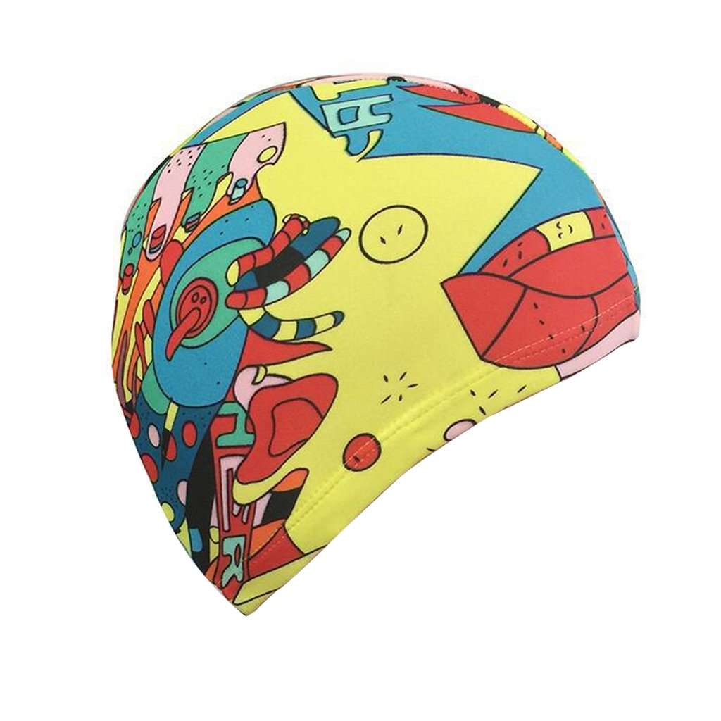 Ni/ños Unisex Ni/ños Transpirable Nataci/ón Sombrero Impermeable Nadar Cap Cartoon Dolphin Patrones IvyH Ni/ños Nataci/ón Cap