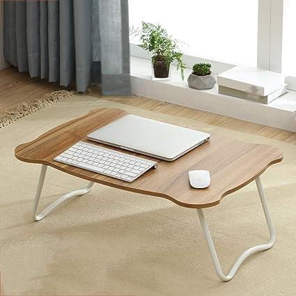Mesa portátil para cama, plegable perezoso aprende a leer mesa ...