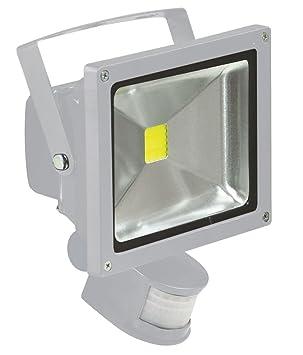 Integrated Dark Grey OSRAM Endura Flood Light 10 W Aluminium