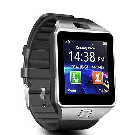 Womdee DZ09 Montre connectée avec Grand écran pour Appareil Photo avec Emplacement pour Carte SIM Compatible avec Samsung HTC LG Sony Blackberry Huawei ...