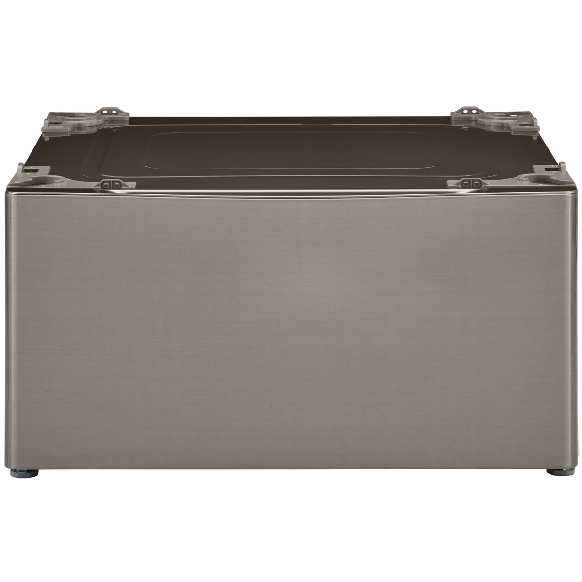 Kenmore 51123 13.7'' Laundry Pedestal with Storage Drawer in Metallic Silver, includes delivery and hookup (Available in select cities only)