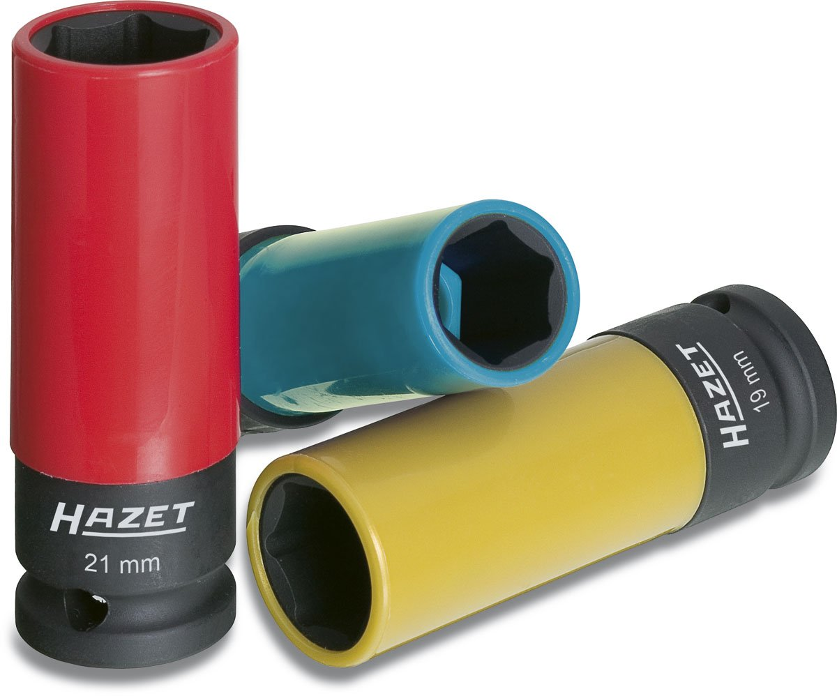 Hazet 903SPC/3 17-21 1/2'' Square 3Piece Impact Socket Set by Hazet