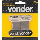 Estanho em Fio, 1.2 mm, 60 x 40, com 20 G, Vonder Vdo2340 Vonder, Yellow