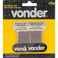 Estanho Em Fio, 1.2 Mm, 60 X 40, Com 20 G, Vonder Vdo2340 Vonder