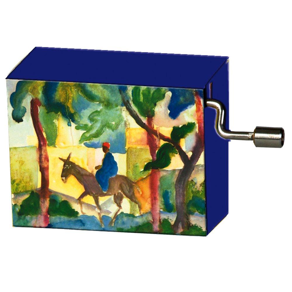 Fridolin 58146 'Beethoven for Elise/Macke Donkey Rider Music Box