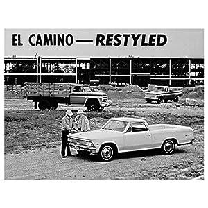 1966 Chevrolet El Camino Factory Photo