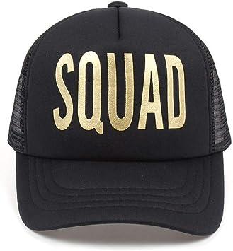 SHENBEIK Gorra Beisbol Hombre Novia Squad Groom Estampado De Oro ...