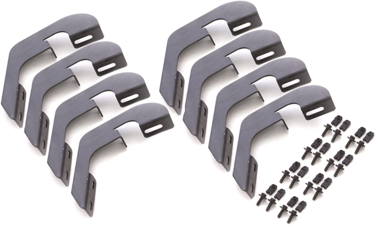 2500 HD LUND 22908039 Crossroads Running Board Kit for 2015-2018 Silverado /& Sierra 1500 3500 HD with Extended Cab