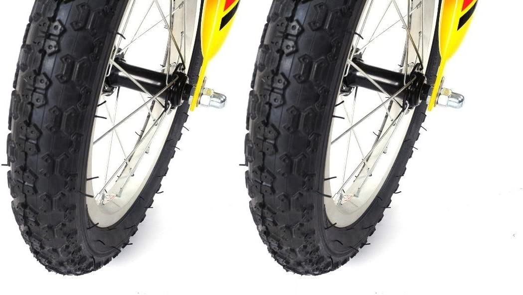 2 x 35,56 cm ruedas de bicicleta 14 x 2.125 abrigo manta para ...