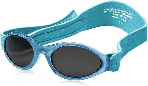 Kidz Banz Sunglasses 100/% UV Protection Soft  Band Lilac Children 2-5 Years