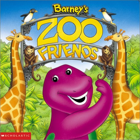 Barney's Zoo Friends (Board Book)