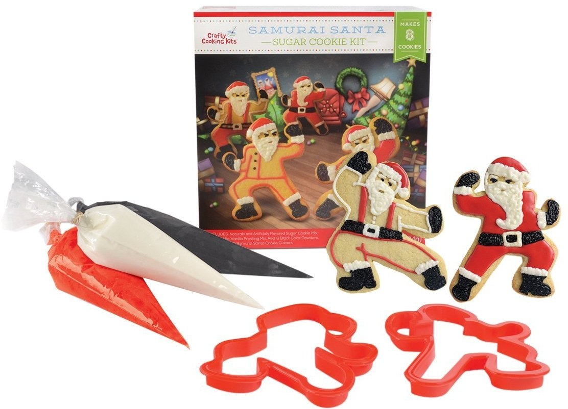 Crafty Cooking Kits Samurai Santa Kit, Sugar Cookie, 10 Ounce