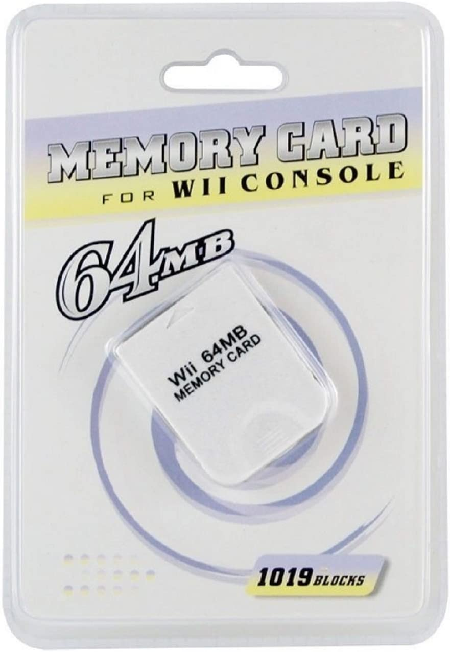 ECM 64 MB Memory Card for Nintendo Wii Gamecube 1019 Blocks