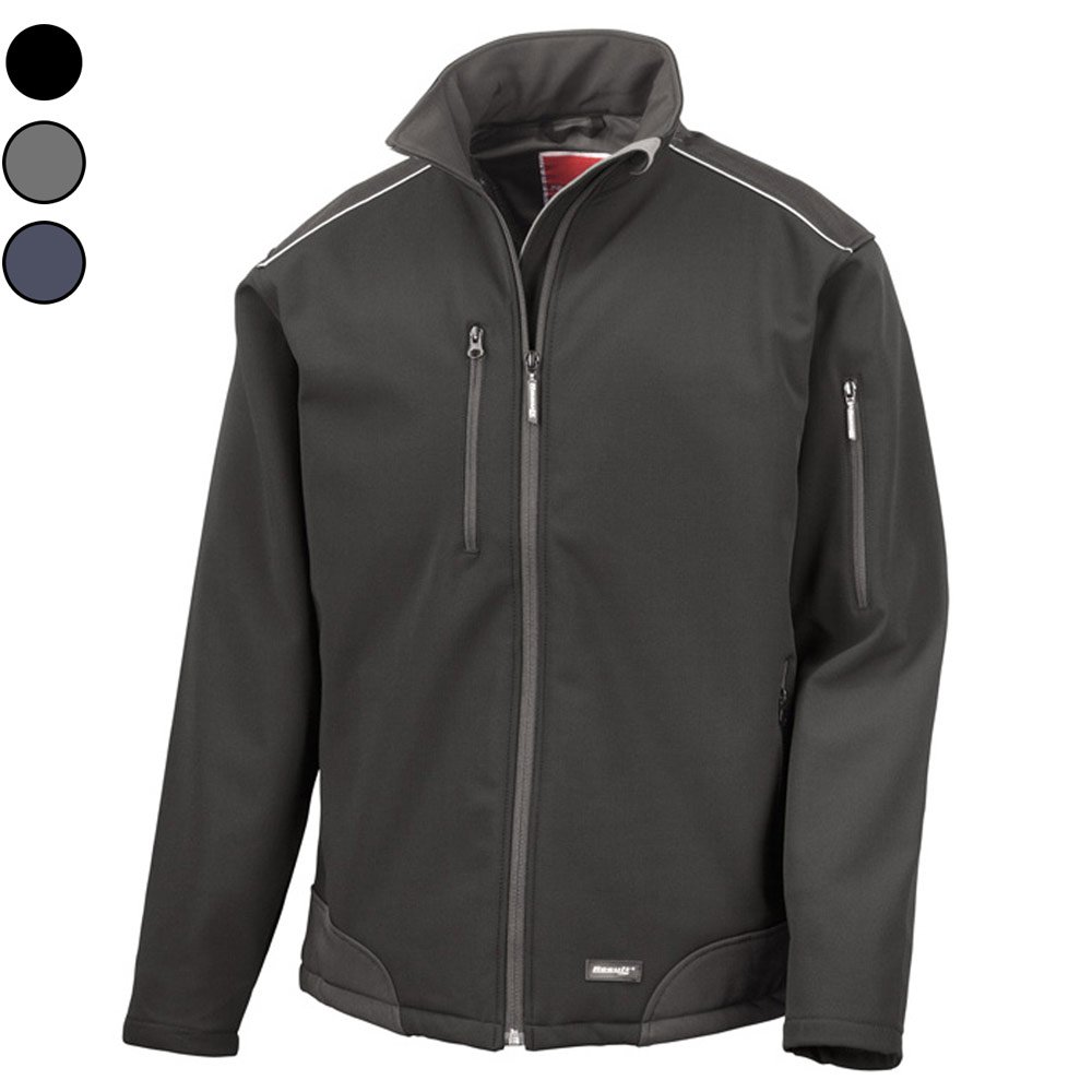 Risultato R124A Ripstop Softshell Workwear Result R124A