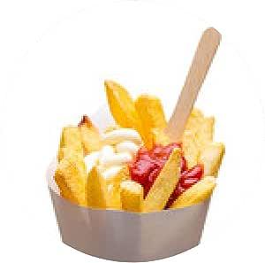 alfombrilla de ratón Países Bajos Fries con mayonesa y salsa ...