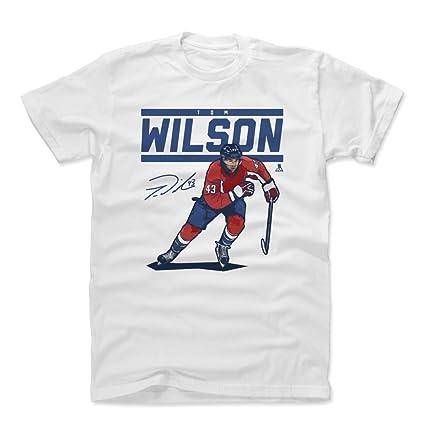 e7727ff94 500 LEVEL Tom Wilson Cotton Shirt (Small, White) - Washington Capitals  Men's Apparel