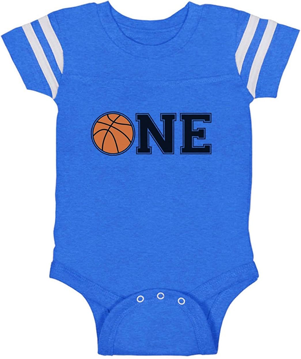 1st Birthday Gift for One Year Old Infant Basketball Baby Jersey Bodysuit