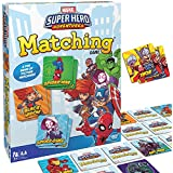 Wonder Forge Marvel Matching Game for Boys and Girls Age 3 to 5 - A Fun and Fast Superhero Memory Game