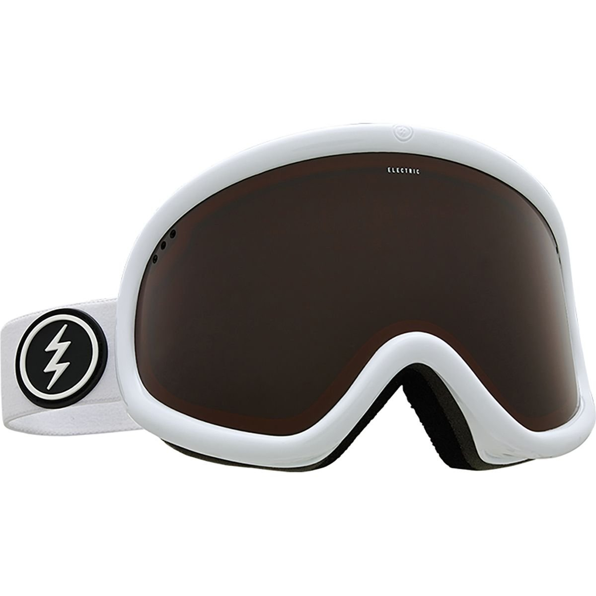 Electric Charger XL Goggles - Gloss White / Brose