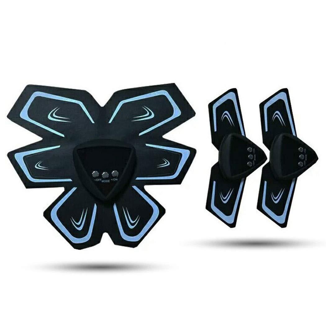 腹部筋肉腹部機器フィットネス機器インテリジェント腹部マシン怠惰なUSB充電腹部トレーニング腹部機器  黒 B07PNPZ7FD