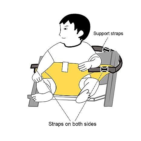 Amazon Com Adjustable Portable Baby Feeding High Chair Belt Travel