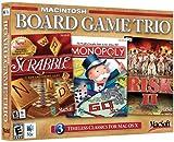 Board Game Trio for Mac: Risk 2,Monopoly & Scrabble