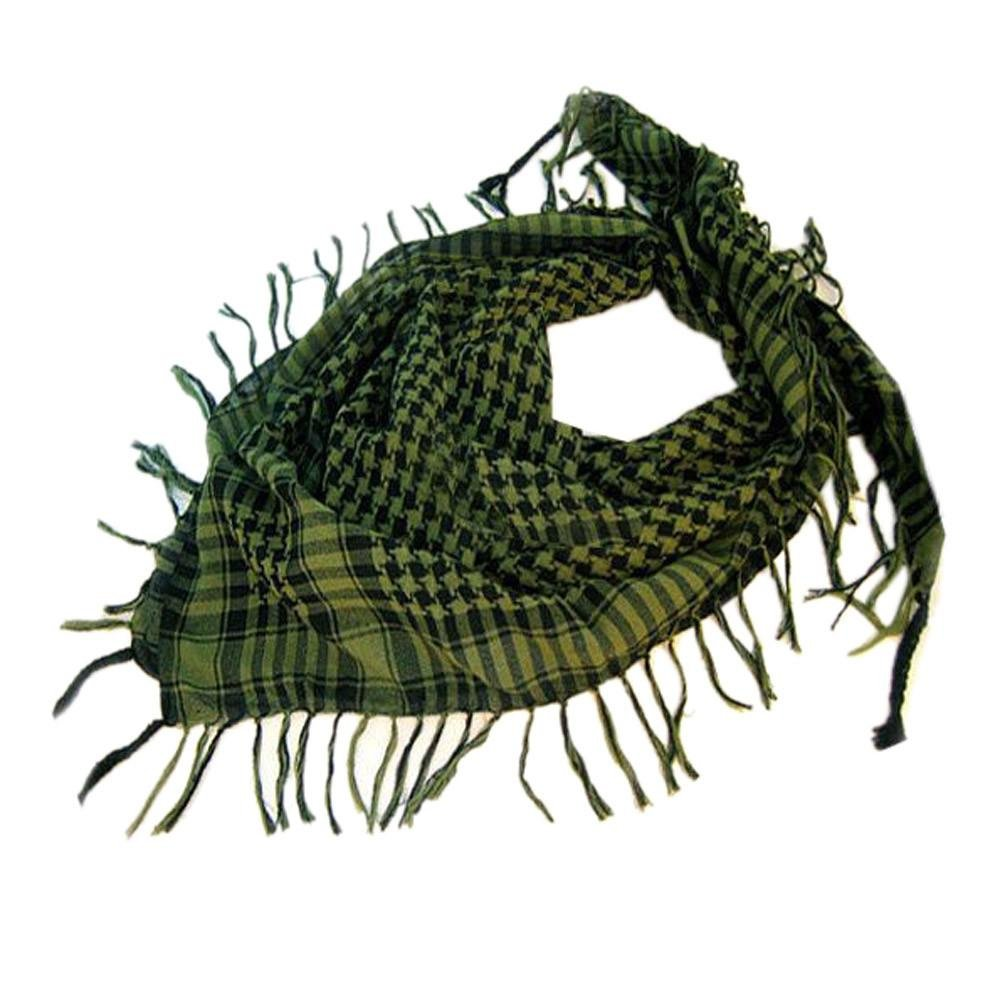 Lavany 1PC Women Men Scarf Shawl Wrap Pattern of Arab Shemagh Keffiyeh Palestine (Green)