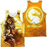 Mortal Kombat X Finish Him Scorpion Sublimation Adult Tank Top