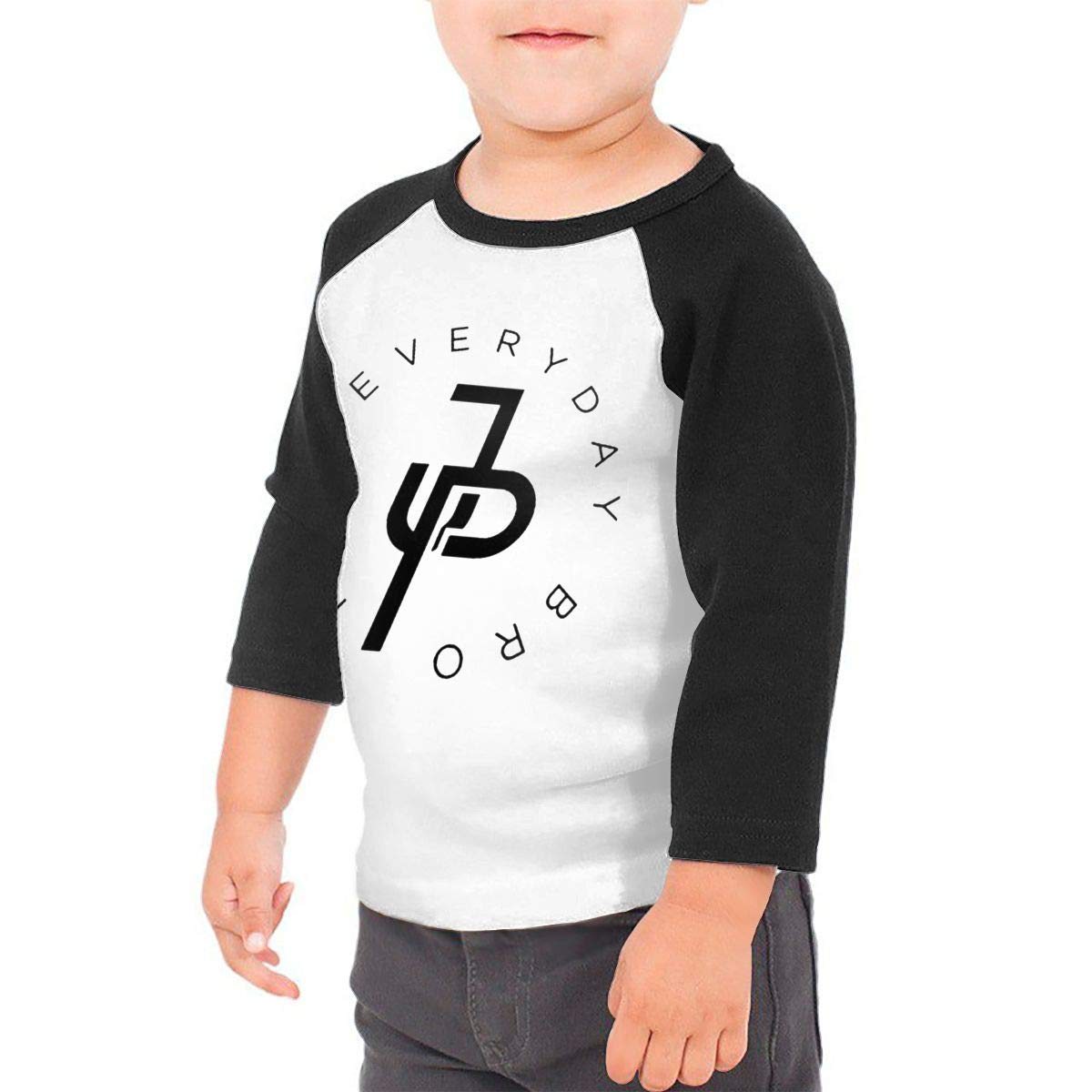 Atcco Jake Paul S 34 Sleeve Rags Baseball T Shirt For 26t And Girls