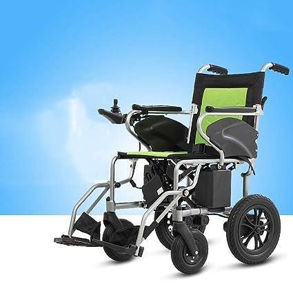 Silla de ruedas eléctrica Plegable 15 kg ligero,Silla de ...